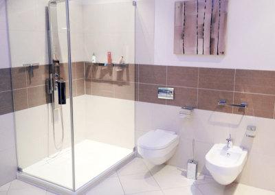 Badalli 5 aus Illerrieden. Moderner Badezimmerumbau, Badezimmergestaltung, Dusche,  Illertissen, Neu-Ulm, Ulm