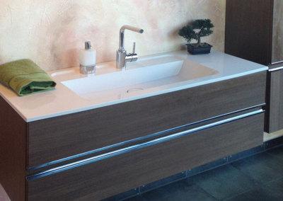 Badalli 5 - Sanitär - Heizung - Solar: freischwebender Waschtisch