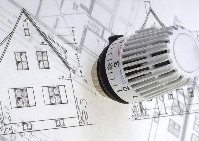Badalli 5 - Sanitär - Heizung - Solar: Thermostat Einbau und Umbau